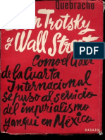 Liborio Justo - Leon Trotsky y Wall Street