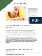 Desarrollo de La Lecto-escritura