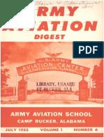 Army Aviation Digest - Jul 1955