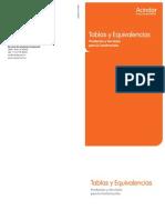 Tablas y Equivalencias (4)