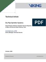 Dry Pipe Sprinkler Systems