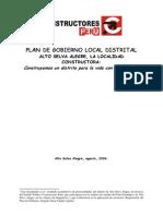 Plan de Gobierno Local Distrital Asa