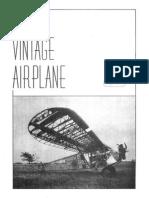 Vintage Airplane - Dec 1972