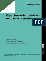 Colombo, María Del Carmen - La Muda Encarnación