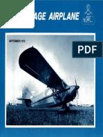 Vintage Airplane - Sep 1973