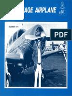 Vintage Airplane - Dec 1974