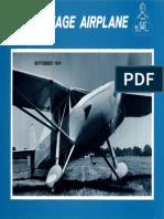 Vintage Airplane - Sep 1974