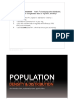Population Assessment lesson slides
