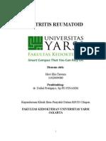 Referat ARTRITIS-REUMATOID