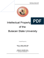 IP Policy BULSU Draft-03 2003