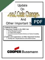 2002 Nec Changes