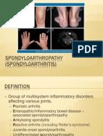 Spondylo Arthropathy