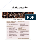Artistic Orchestration