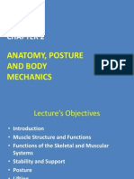 Chapter 2 - Anatomy Posture and Body Mechanics