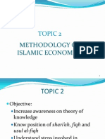 Methodology of Islamic Economics