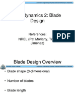 Wind Rotor Blade Design Theory