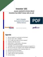 Investor 101 slides - CGP 17 July 2014