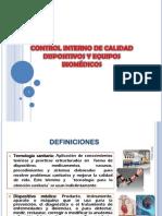 Control de Calidad Equipos Biomedicos
