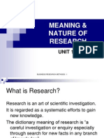 meaningnatureofresearch-110219053957-phpapp01