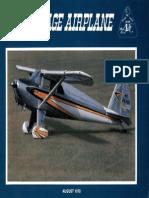Vintage Airplane - Aug 1978