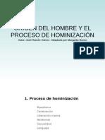 El Proceso de Hominizacic3b3n