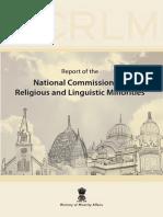 Ranganath Mishra Committee Report
