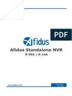 Afidus Standalone NVR R-09A R-16A User Manual