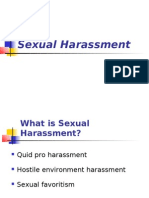 Sexual Harassment, ADA, Etc