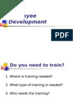 Training and Development 1