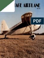 Vintage Airplane - May 1979