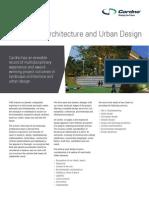 120717- Landscape Architecture Discipline Sheet