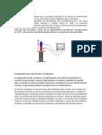 Leyes Faraday Lenz y Generador y Motor