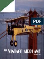 Vintage Airplane - Dec 1980