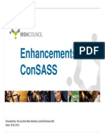 Enhancement to ConSASS