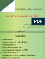SIMS Presentation Sajan Suraj Karan