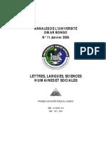 Annales UOB 11