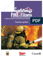 Fighting Fire Fitness Log Book