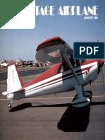 Vintage Airplane - Jan 1981