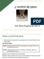 21.- Dieta y Control de Peso