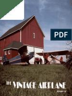 Vintage Airplane - Nov 1981