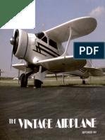 Vintage Airplane - Sep 1981