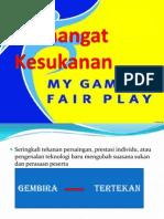 Tajuk 18 - Permainan Bersih (Fair Play) Dan Penyalahgunaan Bahan Dalam Sukan
