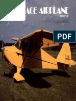 Vintage Airplane - Mar 1981