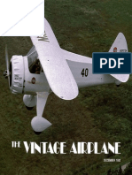 Vintage Airplane - Dec 1982