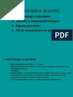 Curs Nr 5 Metabolismul Glucidic