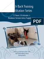 Teach Back Training Facilitation Series