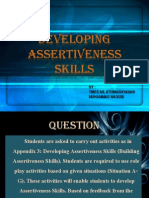 Developing Assertiveness Skills