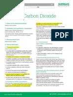 MSDS Medical Carbon Dioxide