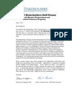 2013 Golf Classic Sponsor