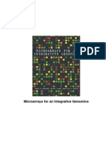 Bioinformatics - Microarrays For An Integrative Genomics